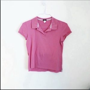 🔴 2 for $10 🔴 J.Crew Pink Polo Top